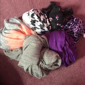 All of my scarves I have on sale in a single order